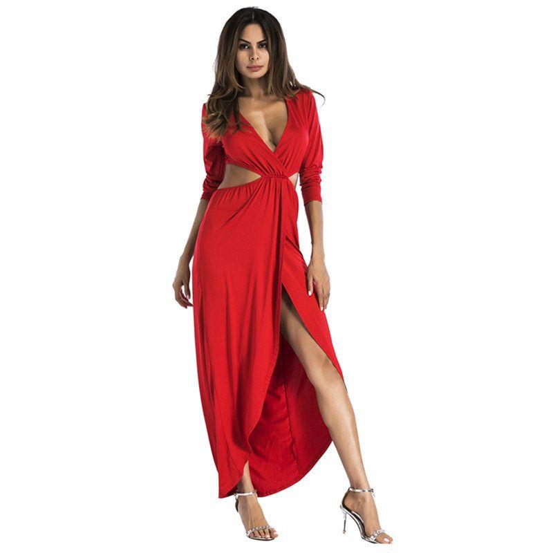 Red Beach Dresses