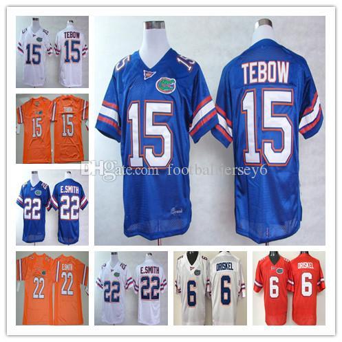 f3e3496ff Best Quality NCAA Tim Tebow Jerseys 6 Mens College Florida Gators ...