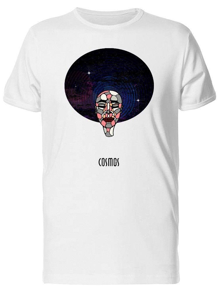 9000fca7333e Abstract Face Cosmos Galaxy Brand Clothihng Top Quality Fashion Mens T Shirt  100% Cotton Novelty T Shirts Fun T Shirts From Fanyumaoyi10