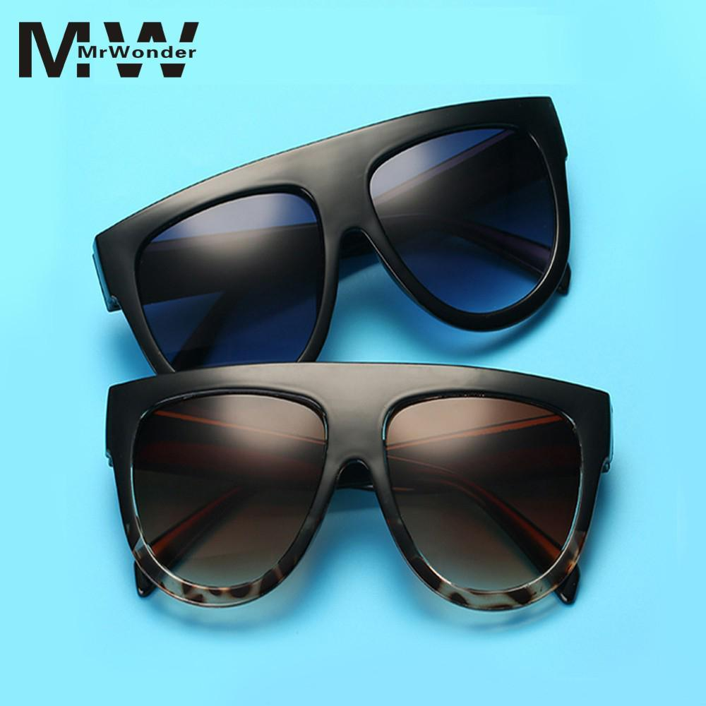 d32a7ff628c0 Mrwonder Fashionable Big Frame Anti UV Sunglasses Street Snap Party Eyewear  Birthday Gift Ornament YI0 Wiley X Sunglasses Mirror Sunglasses From ...