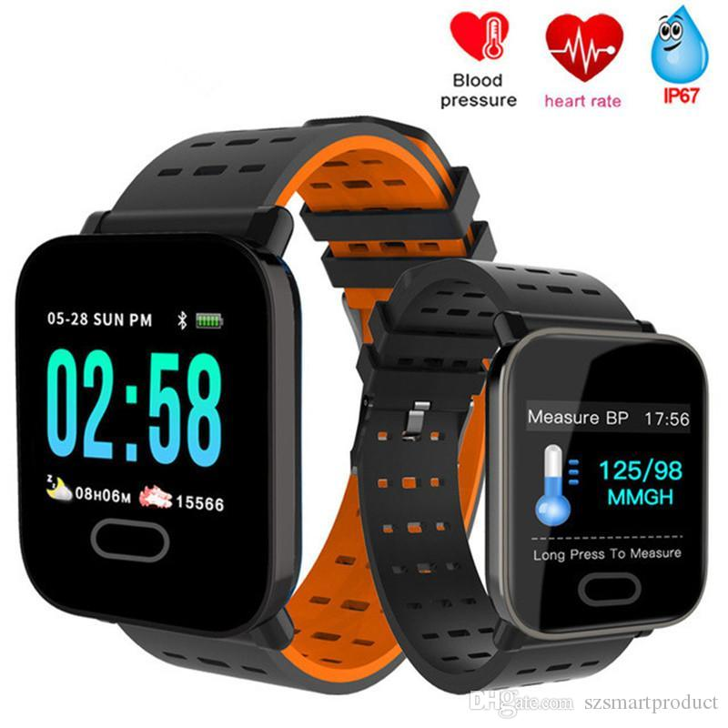Fitnessgeräte Sport & Unterhaltung Smart Armband Farbe Bildschirm Blutdruck Fitness Tracker Gerät Herz Rate Monitor Smart Band Sport Smart Smart Armband Watc