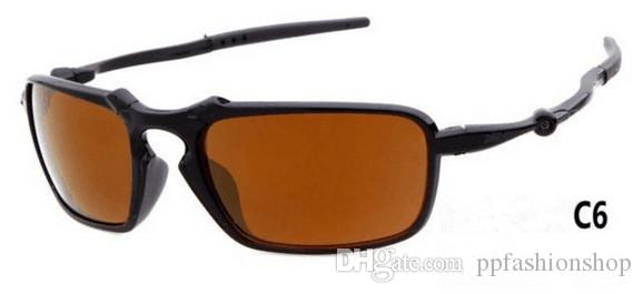 Gafas de sol deportivas para hombre Gafas de sol deportivas para mujer Dazzle Color Ciclismo Deportes Gafas al aire libre 6020 Envío gratis