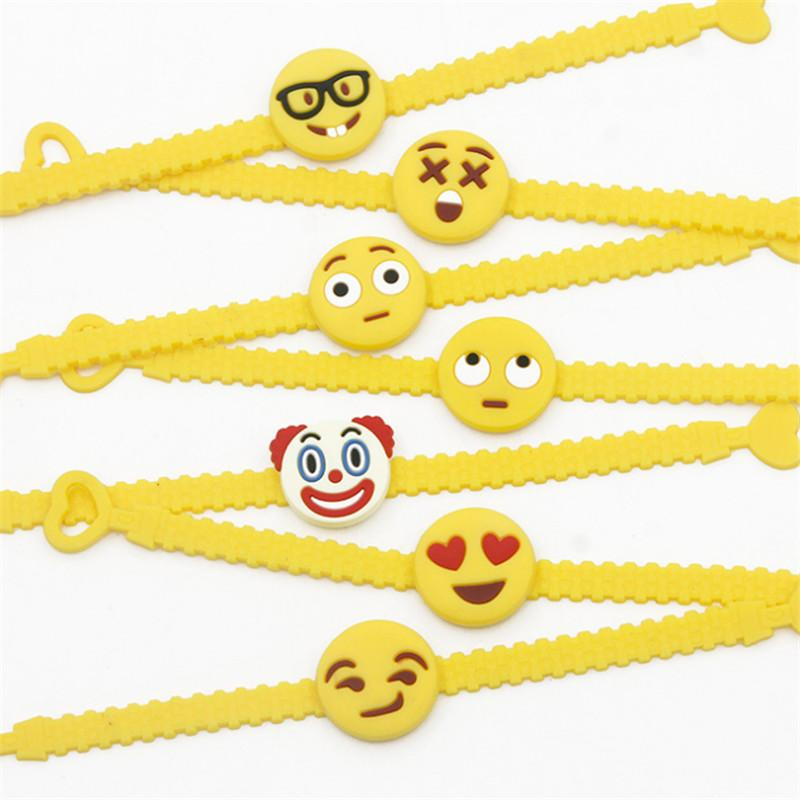 Licorne Bracelet Bracelet EmojiUnicornio Party Favors Décorations De Fête Enfants D'anniversaire De Mariage Cadeaux pour Les Invités Fête FournituresS