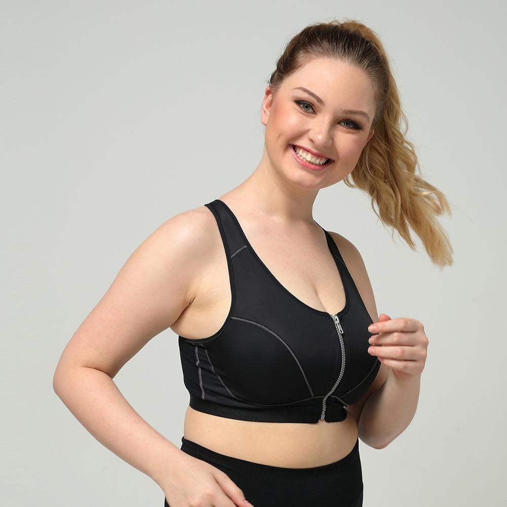 1479b6aba54a9 2018 New Black Push Up Vest Bra Top Women Breathable Hot Fashion ...