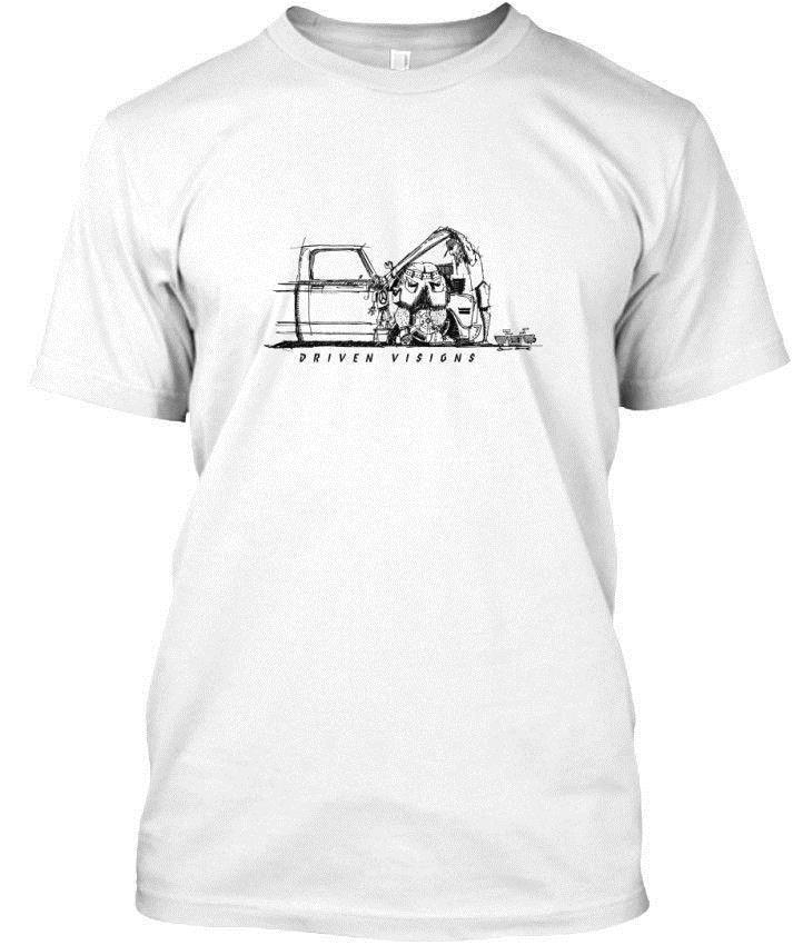 Helping Dad Wrench On The C10 Driven Visions Standard Unisex T Shirt