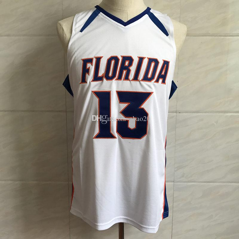 b6a52545680 #13 Joakim Noah Florida Gators College Basketball Jersey Men's Embroidery  Stitches Customize any Number and name Jerseys