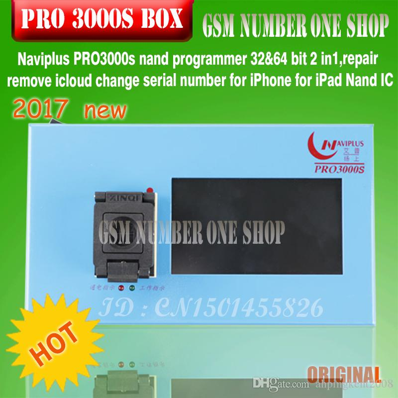 IP BOX NAVIPLUS pro3000 s box chip programmer 32bit+64BIT 2IN1 5s 6 6plus change serial sn ipaxd 2 3 4 5 6 bypass icloud account
