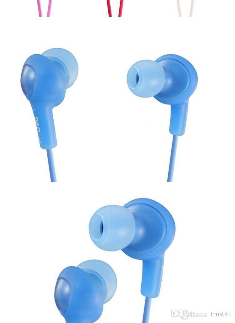بالإضافة إلى HA FR6 سماعات سماعة الهاتف HA-FR6 سماعات أذن سماعات أذن 3.5MM مع مايكروفون للحصول على الهاتف المحمول HTC HA-FR6