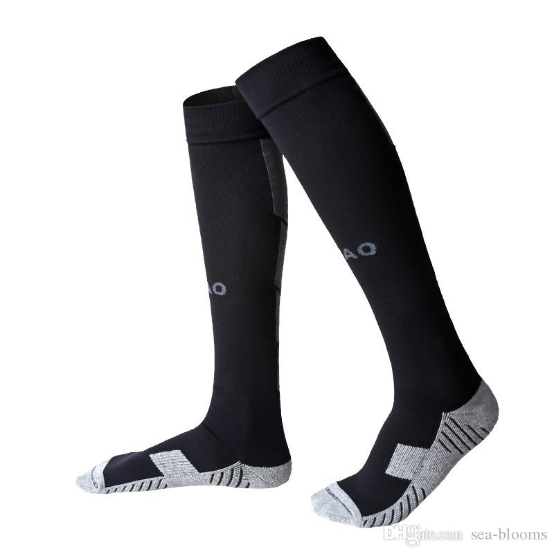 Outdoor Sports Football Socks Stocking Warmers Breathable Thicken Knee-high Compression Soccer Cycling Socks Professional H105S
