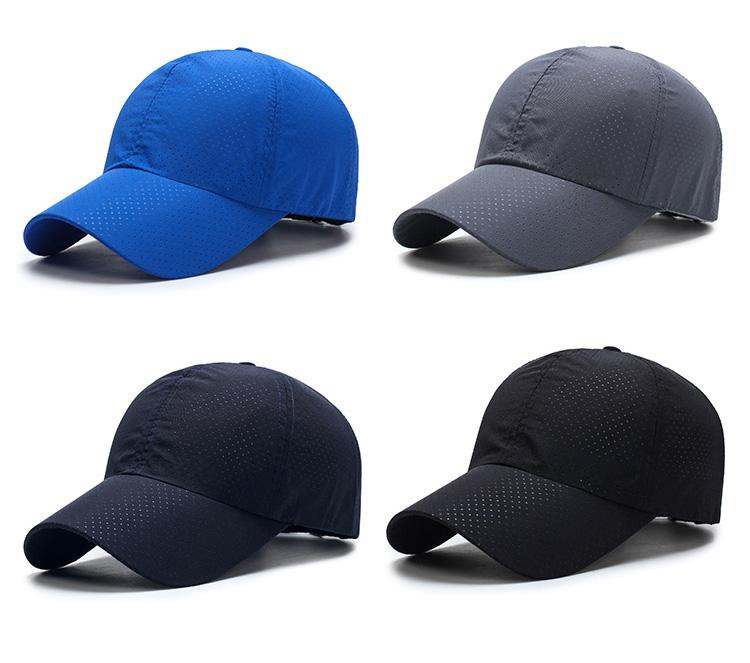 62fc777b052 Aetrends Men Women 2017 Summer Snapback Quick Dry Mesh Baseball Cap Solid  Casual Casquette Unisex Sun Hat Bone Breathable Hats Z 5109 Leather Hats  The Game ...