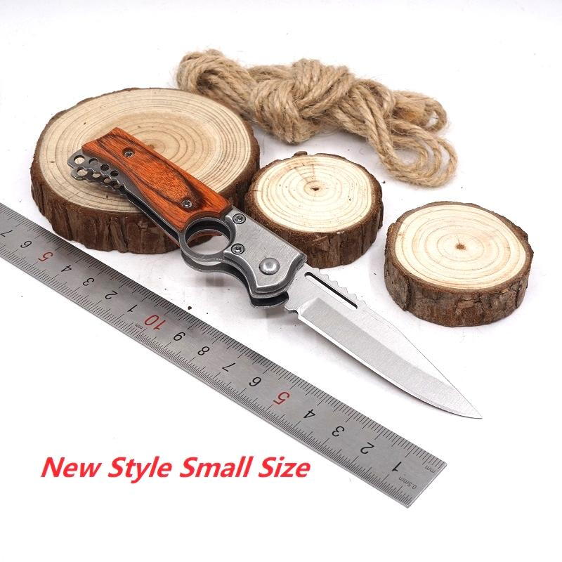 AK47 Gun Knife Folding Pocket Tactical Knife Fast Open Hunting Camping Outdoor MultiTool Survival Knives With LED Light