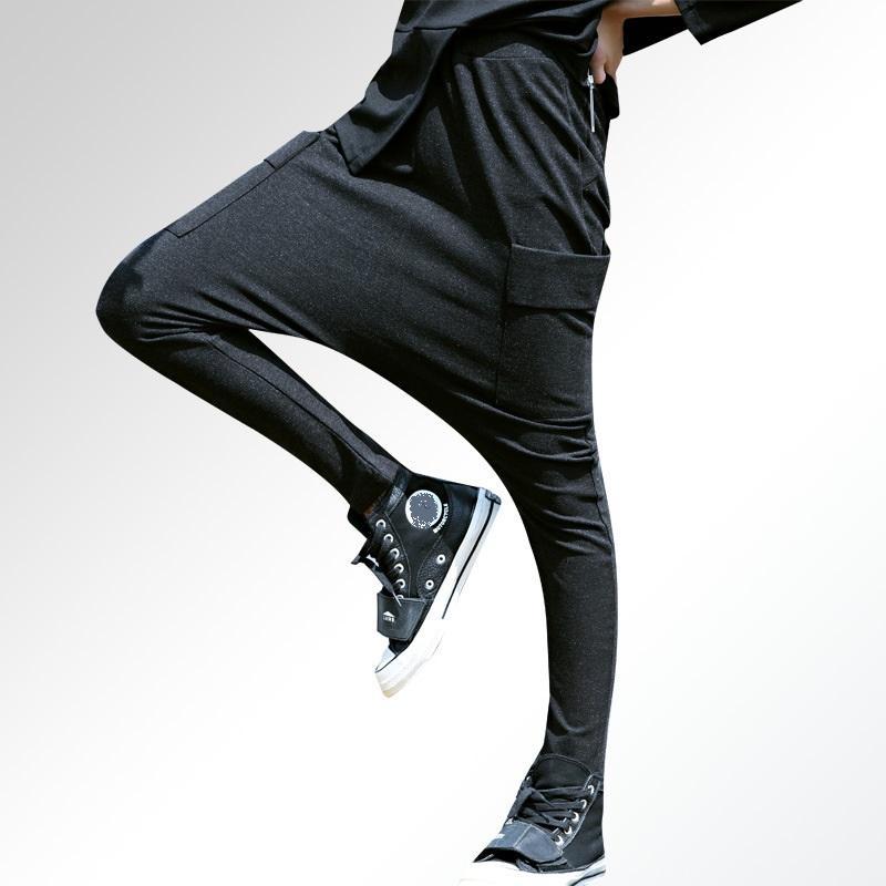 b5bc41c3775 2019 2018New Arrival Spring Women Plus Size Harem Pants Casual Loose Female  Leggings Street Breeches Trousers Streetwear Loose Fit From Hongyeli