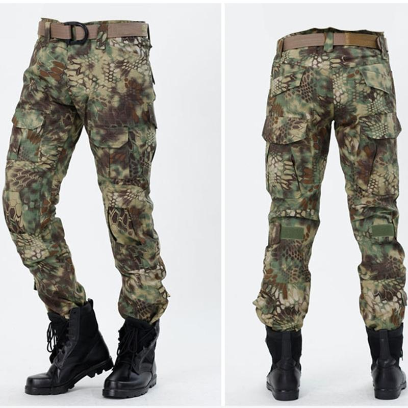 2df75ea39e3fe 2019 CQC Tactical Pants Cargo Men Hunting Paintball Camouflage Army BDU  Combat Pants With Knee Pads Mandrake From Hineinei, $51.14 | DHgate.Com