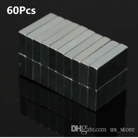 Promotion Price 60pcs Cuboid N52 NdFeB Magnetic Materials Block Rare Earth Neodymium Permanent Super Strong Magnets 10 x 5 x 2mm