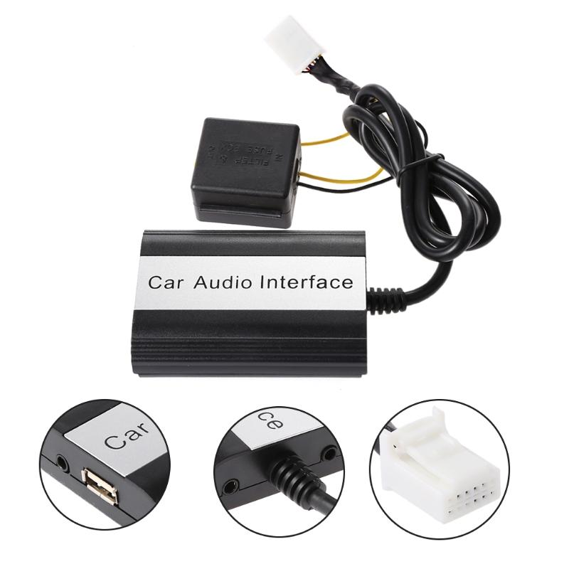 b4a24700752ee7 2019 Car Bluetooth Kits MP3 AUX Adapter Interface For Scion 2003 2011 12pin  From Bestness