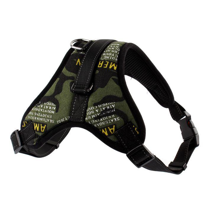 Weiche verstellbare Hundegeschirr Weste Kragen Big Dog Rope Collar Hand Pet Brustgurt Pet Zugseil für Small Medium Large Dog Supplies MK214