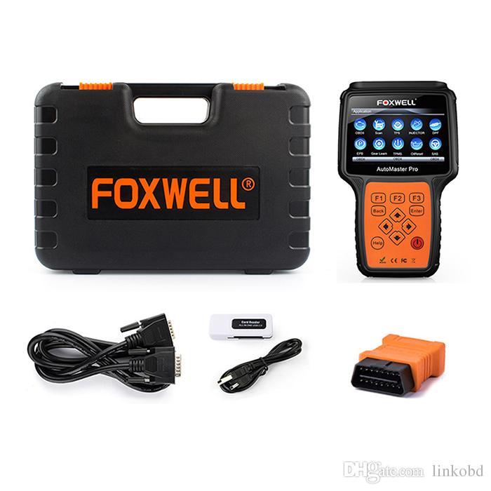 FOXWELL NT644 PRO Sistema Completo Profesional Automotriz OBD OBD2 Herramienta de Diagnóstico DPF Regeneración TPS Coche Airbag ABS Restablecer Escáner