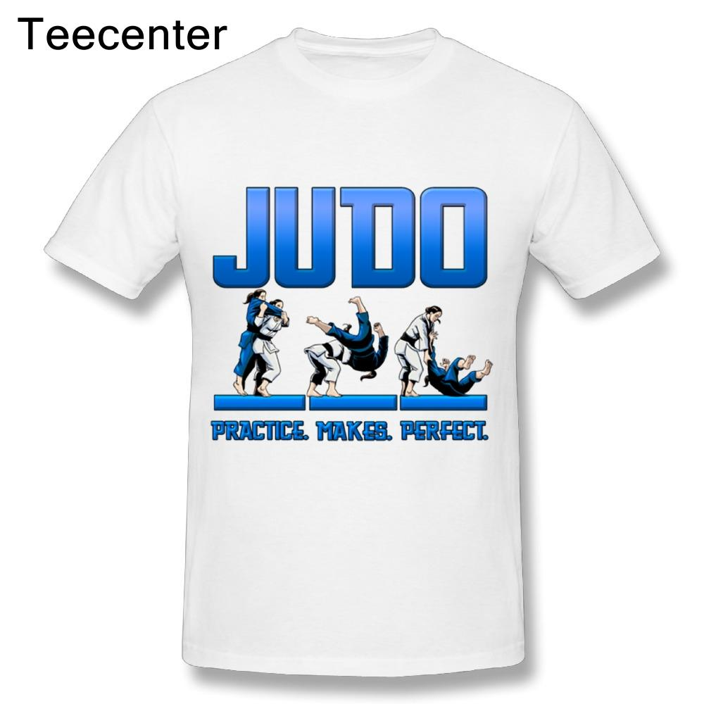 20c504fa1 Cool Awesome Quality Custom Cotton T Shirts New Streetwear Man Brand Judo  Female Practice Makes Perfect Short Sleeved White Designer T Shirts Clever T  Shirt ...