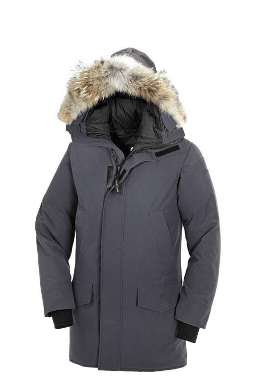 2019 brand winter fourrure down parka homme jassen chaquetas