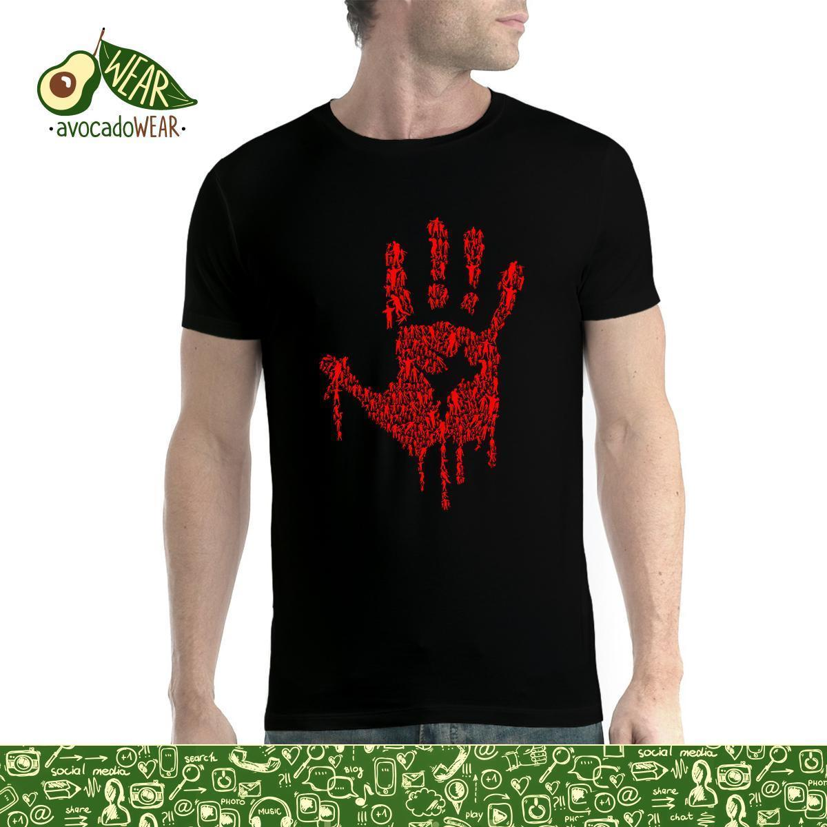 Details Zu Hand Of Zombies Blood Assault Mens T Shirt Funny Unisex Casual  Gift Teet Shirts Tee Shirts For Sale From Lukehappy13 63992067aa2