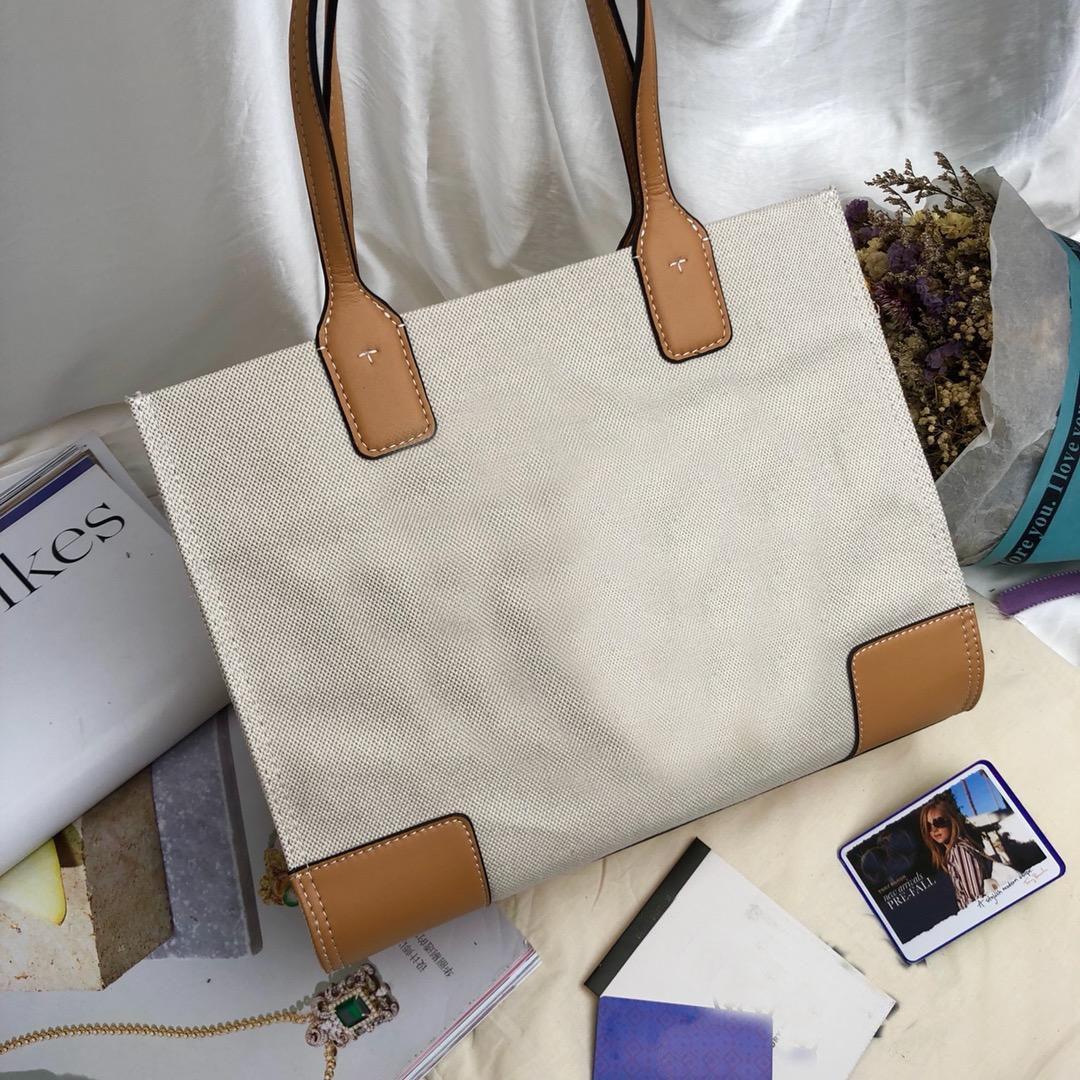 1953c25e892 Compre Designe Women ELLA MINI TOTE Canvers Bolsa De Compras Bolsos De Moda  Clásica Recorte De Cuero Genuino Envío Gratis De Calidad Superior A  76.15  Del ...