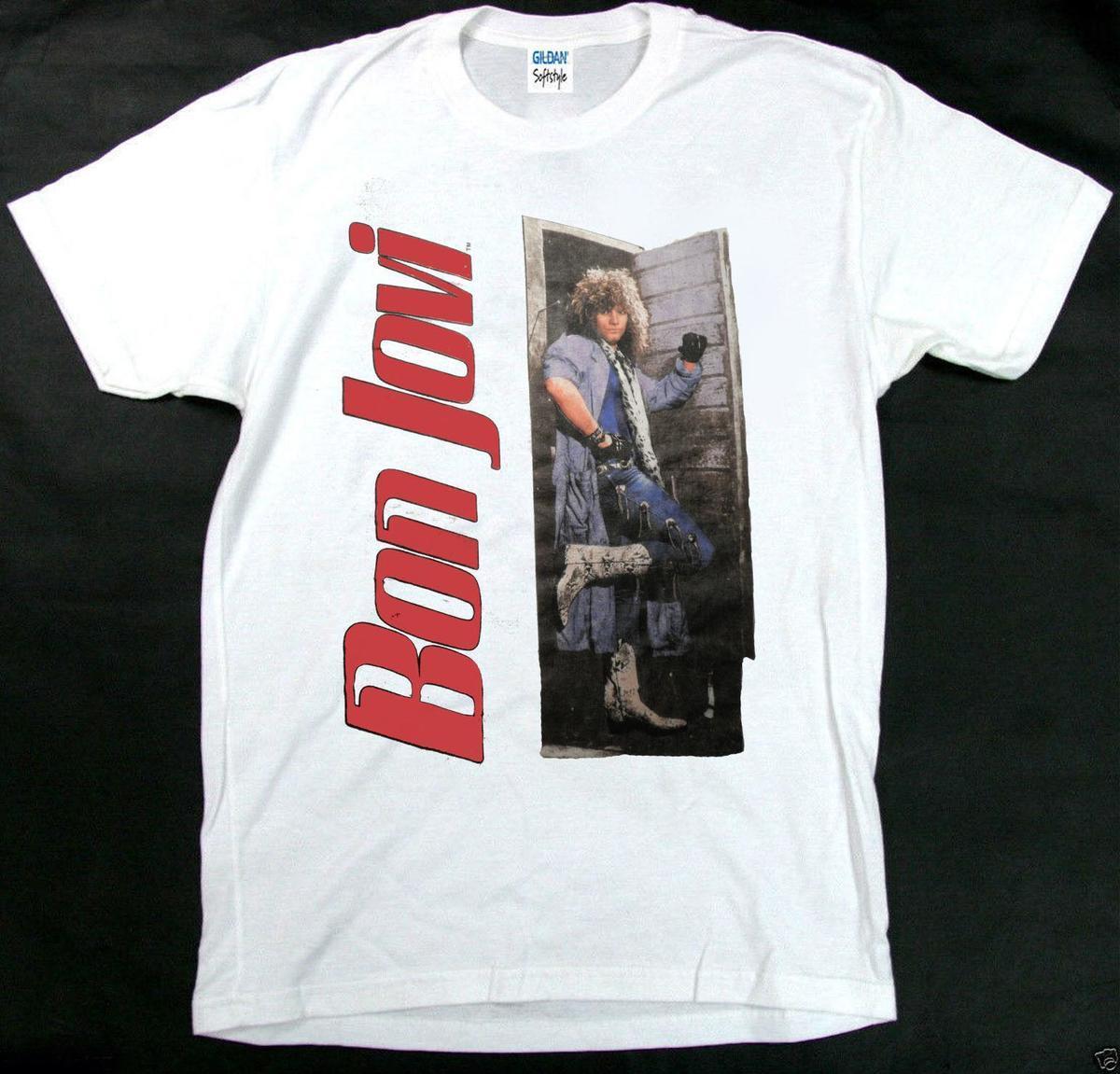 Vintage 80s concert t-shirts