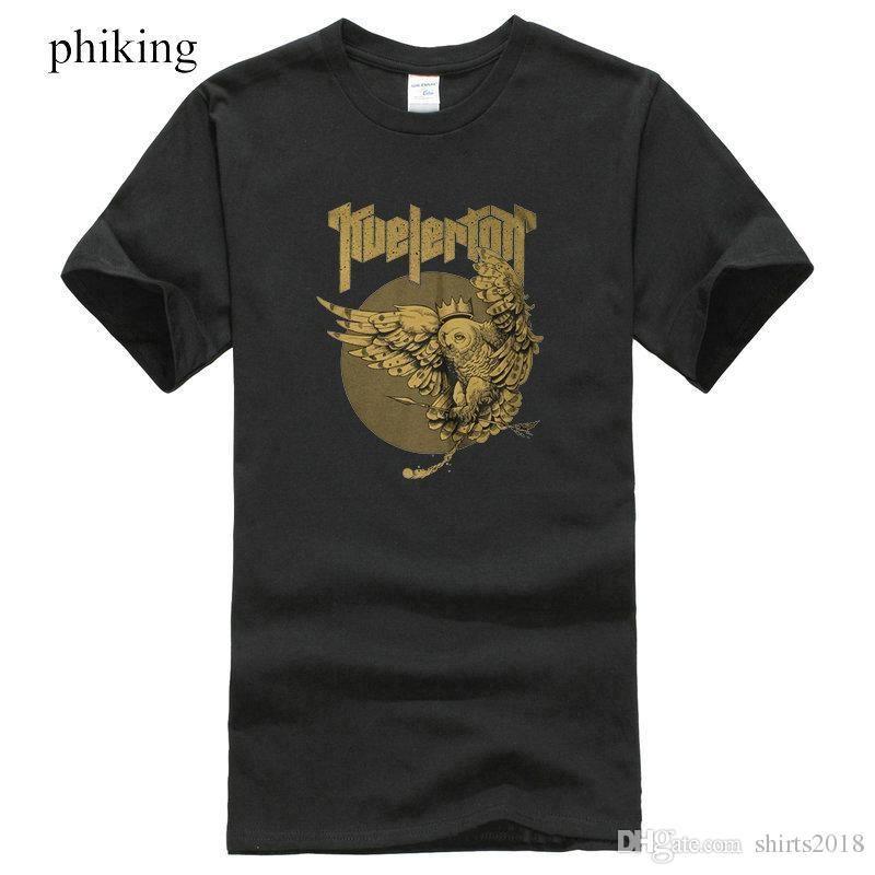 T-shirts Kleidung & Accessoires Kvelertak Owl King T-shirt
