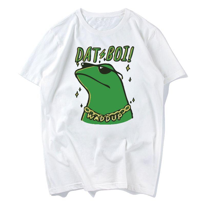 3ec5dfcb243 Dank Memes T Shirt 2018 It Tee Shirts Pepe Custom Short Sleeve Boyfriend s  Male Coole Tee Shirts Plus Size S Xxxl Designer T Shirt Coolest T Shirts  From ...
