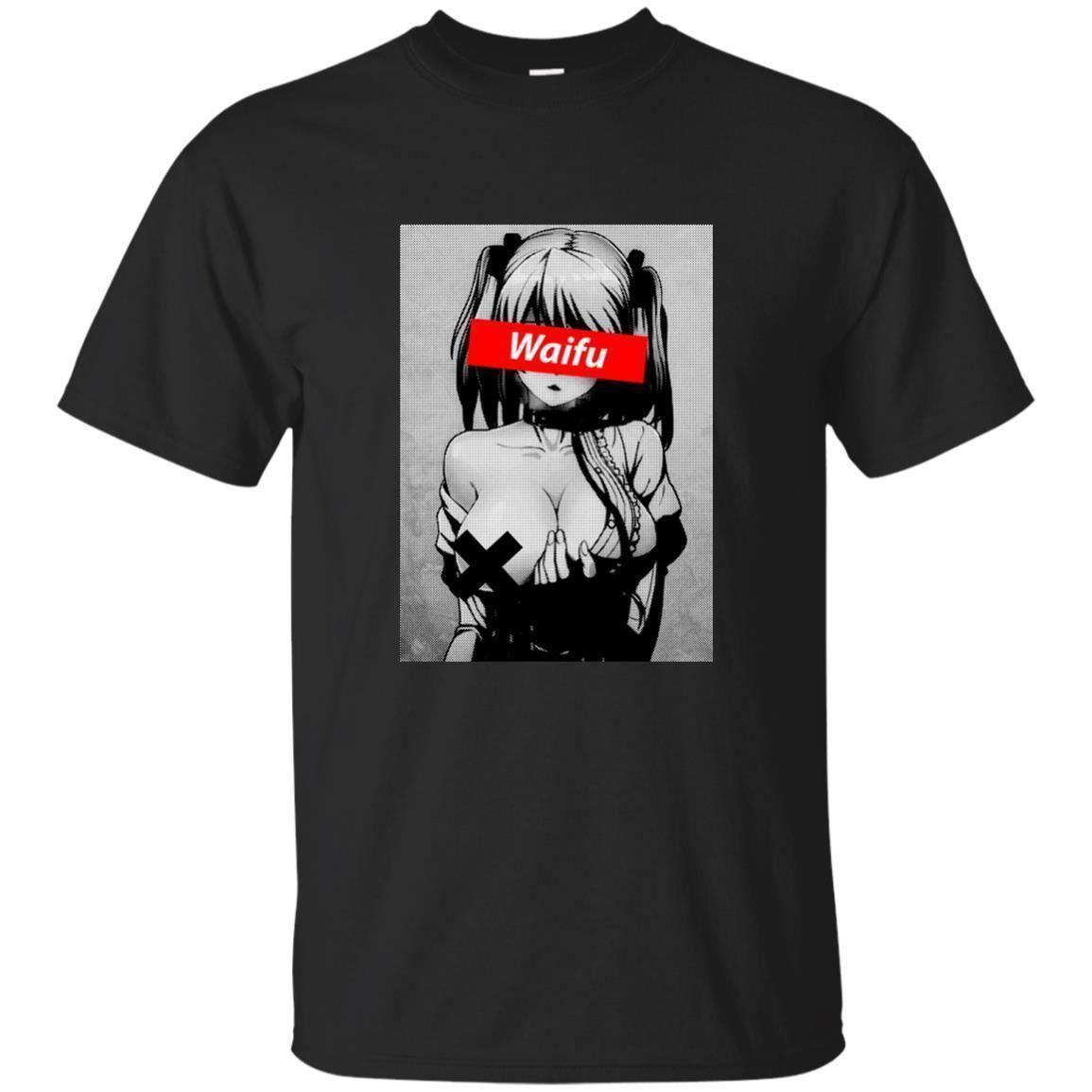 Größe T Hentai Material Männer Shirt Waifu Mädchen Hemd Otaku 5xl Für Lewd Nettes S WEDYH29I