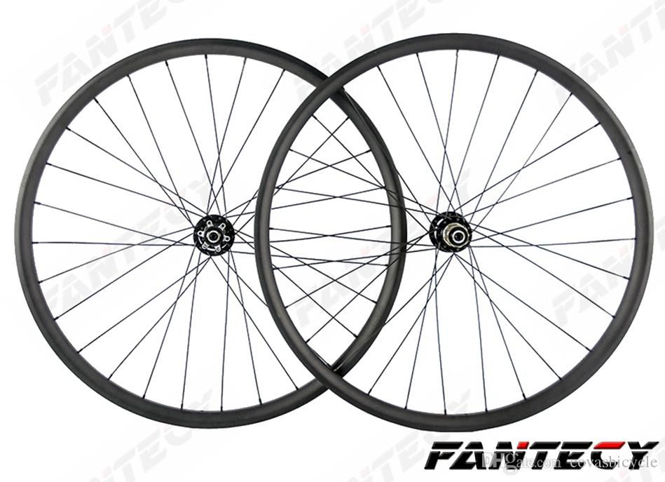 27 5er 27mm width 23mm depth hookless mountain carbon wheelset 27 5 12 14 16 Inch Weave 27 5er 27mm width 23mm depth hookless mountain carbon wheelset 27 5inch mtb xc bike carbon wheels with powerway m42 hub best cycles bike wheels cheap from