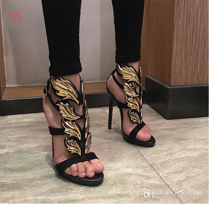 83f3a360d72 Brand Fashion Women Pumps Leaf Flame High Heel Pumps Shoes For Women Sexy  Peep Toe High Heels Sandals Party Wedding Shoes Woman Pumps Shoes Slippers  For Men ...