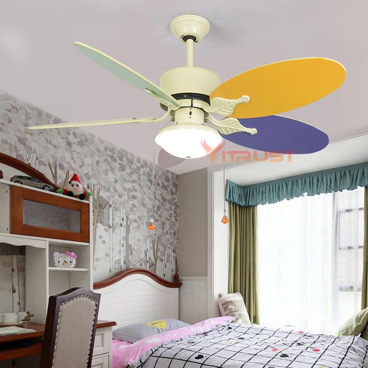 Phenomenal Cute Child Ceiling Fan Lamp Modern Kids Ceiling Fans With Lights For Kid Bedroom Living Room Light Home Interior And Landscaping Mentranervesignezvosmurscom