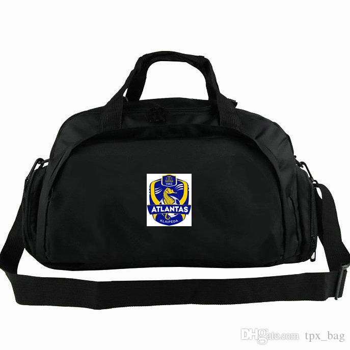 ca73c5fc6cae Atlantas Duffel Bag Klaipeda Tote Lithuania Union Football Club Backpack  Soccer Badge Luggage Sport Shoulder Duffle Outdoor Sling Pack Wheeled  Duffle Bags ...