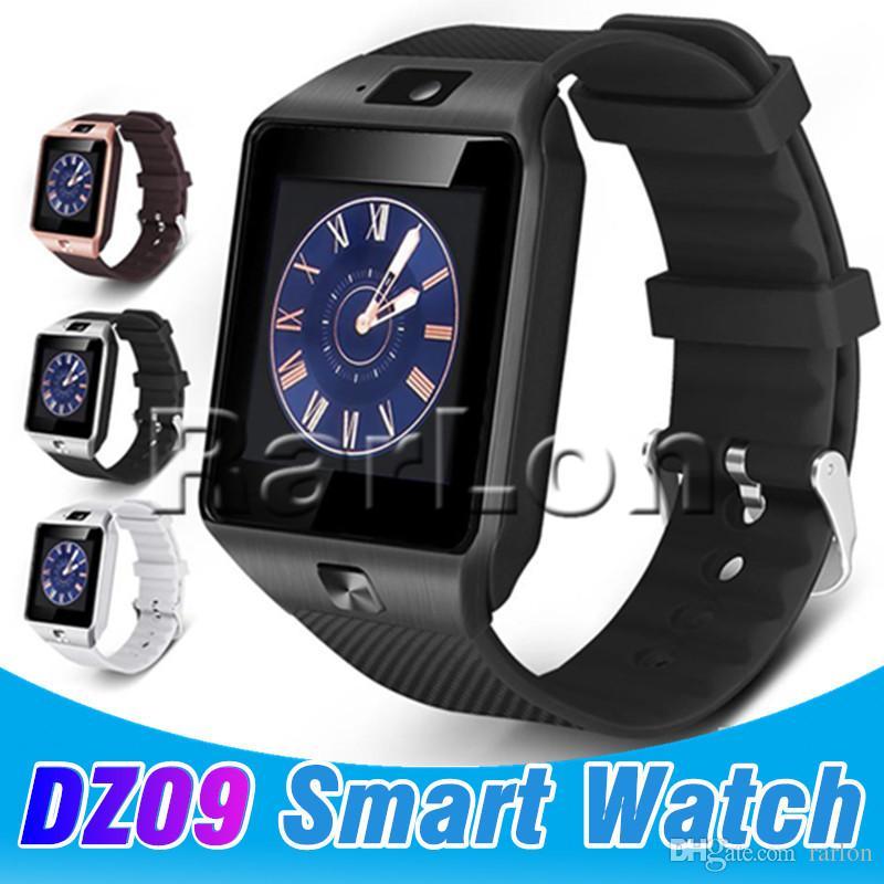 5af989aca54 Compre Dz09 Bluetooth Smart Watch Wirstband Android Relógio Inteligente  Cartão Sim Para Iphone Android Ios Telefone Móvel Smartwatch Com Pacote De  Varejo De ...