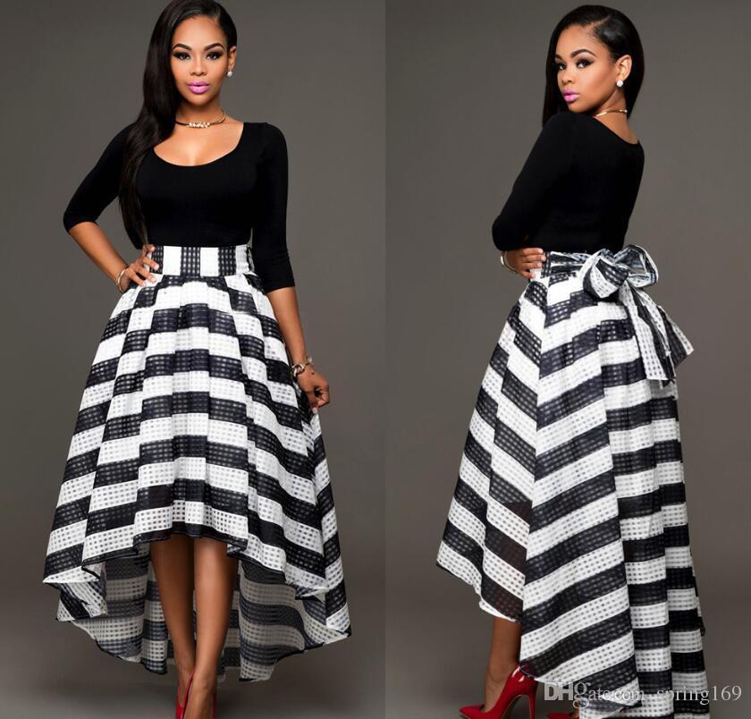 4a269b67e52fb Satın Al Sıcak Satış Yeni Supreman Günlük Elbiseler Moda Kadınlar Çizgili  Yaz Elbise Seksi Kolsuz Örgü Patchwork Şifon Uzun Maxi Elbise, $23.12 |  DHgate.
