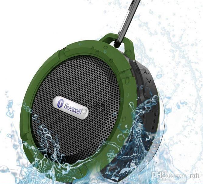 Cheap Price Bluetooth 3.0 Wireless Speakers Waterproof Shower C6 Speaker with 5W Strong Driver Long Battery Life many colors
