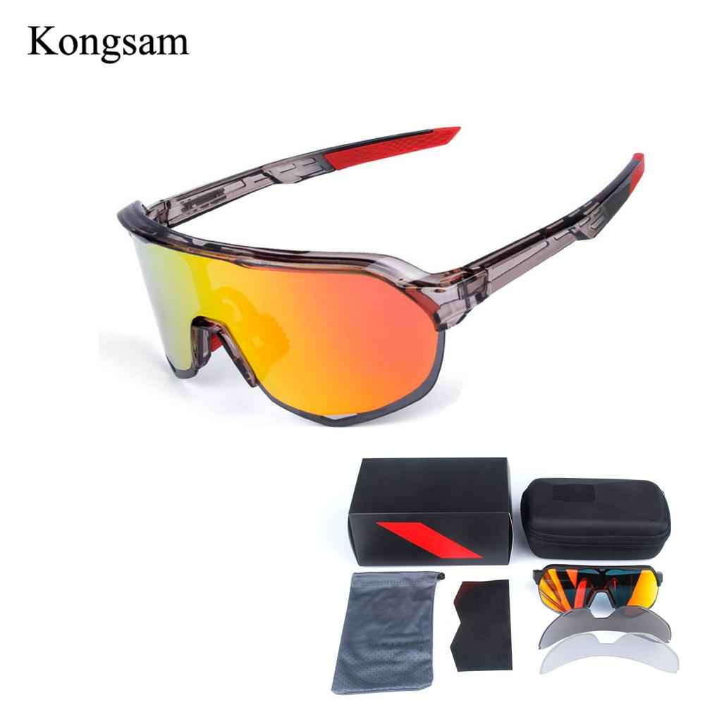 4e75c8230b 2019 Kongsam Polarized Cycling Sun Glasses Outdoor MTB Sports Bicycle  Glasses Gafas Ciclismo Cycling Eyewear Goggles Bike Sunglasses From  Peachguo, ...
