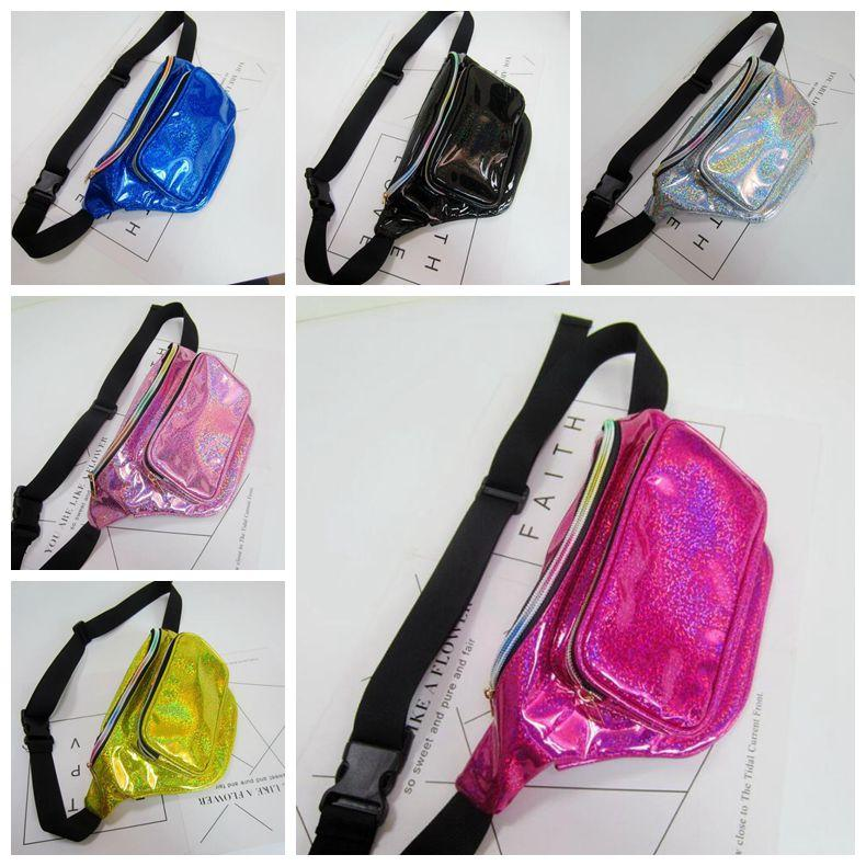 efc4734712 Laser Translucent Waist Bag Waterproof Rainbow Hologram Metallic Silver  Fanny Packs Unisex Casual Waistpacks CCA9864 Cooler Bags Backpacking  Backpacks From ...