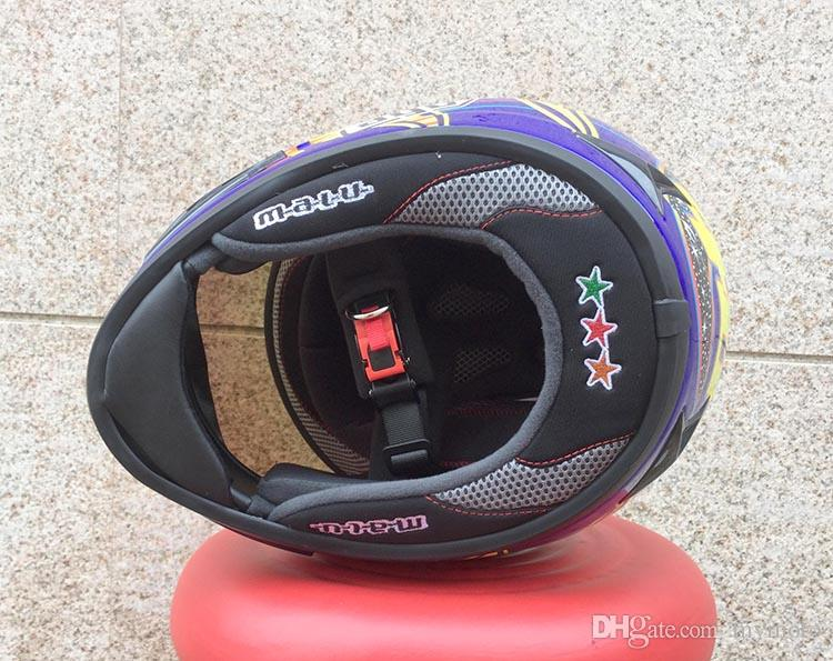 MARUSHIN motorcycle helmet full face helmet racing helmet Mens Pro motorcycle helmets DOT approved trans 3