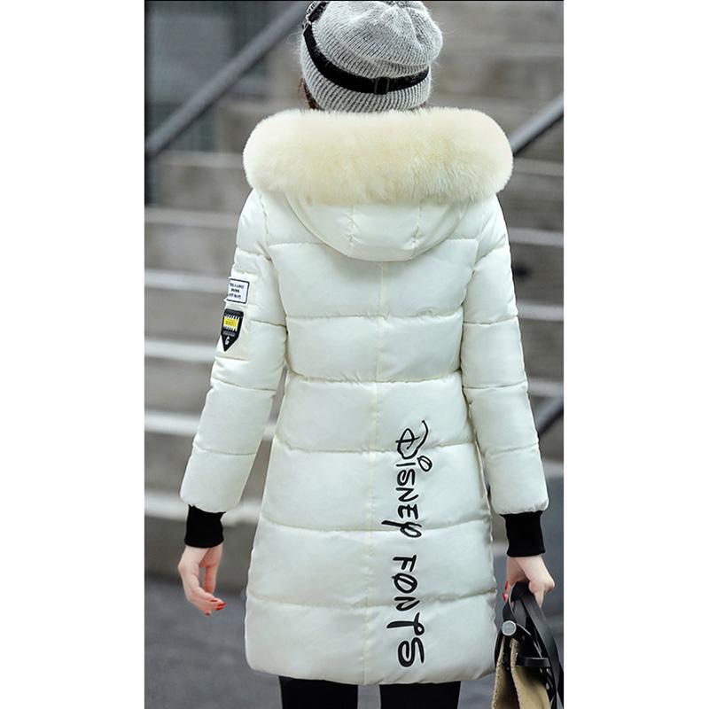 2017 Novo Inverno Para Baixo Casaco Mulheres Engrossar Jaqueta de Slim Com Capuz De Pato Para Baixo Longo Para Baixo Parka Casacos Quentes YP0587