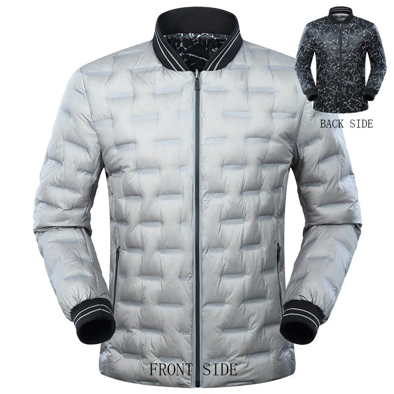 39215bfea54 2019 Plus Size 3XL 4XL 5XL 6XL 7XL Winter Reversible Jackets And Coats  Stand Collar For Men Clothing Men S Parka 135 175 From Sikaku