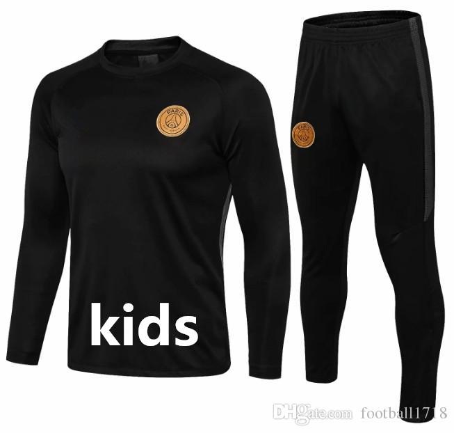 Compre New Kids Marseille Survetement Psg Chandal Futbol Ciudad De Francia  Arsenal Traje De Entrenamiento Para Niños 2018 2019 Mbappe Fútbol Chándal  ... 002e0549ea91f