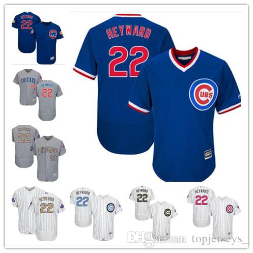 1a523141b Custom Men Women Youth Majestic Cubs Jersey  22 Jason Heyward Home ...