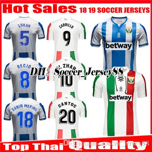 40d3a7125 2019 2018 2019 Leganes Soccer Jersey CARRILLO Home Away 18 19 J. SILVA EN  NESYRI SANTOS EL ZHAR JUANFRAN DANI OJEDA ROLAN Jerseys Football Shirt From  ...
