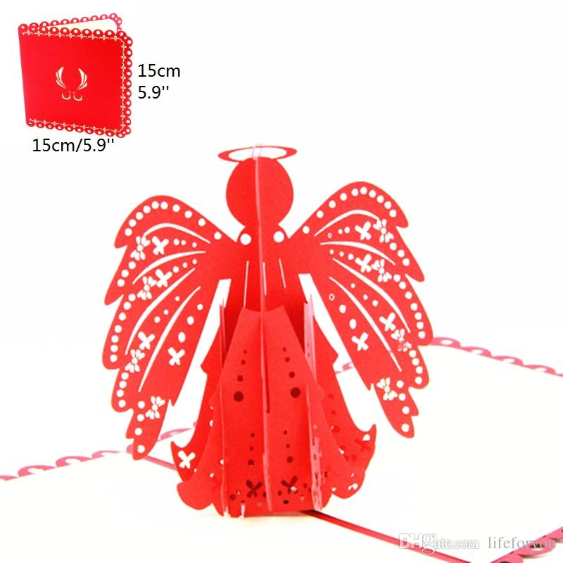 Blessing angel birthday party decorations kids greeting cards blessing angel birthday party decorations kids greeting cards birthday party favors 3d birthday pop up cards greeting card business holiday greeting cards colourmoves
