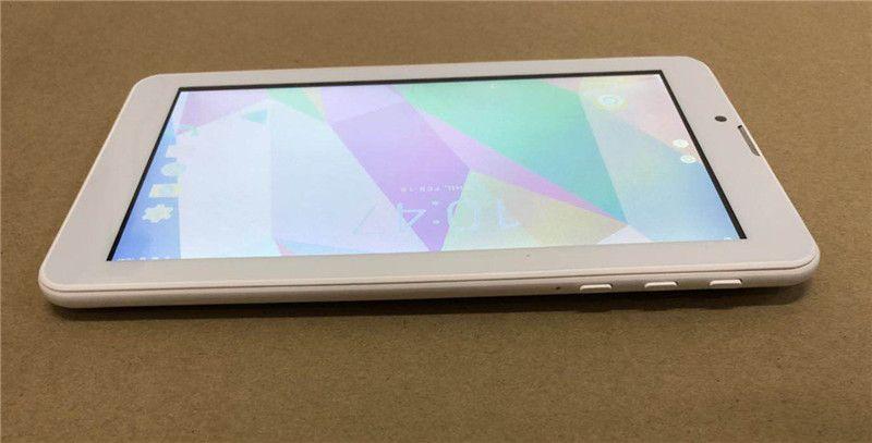 168 세대 7 인치 Phabet 전화 통화 태블릿 PC 1024 * 600 픽셀 Capactive 화면 Mtk8312 쿼드 코어 CPU 램 1기가바이트 롬 8기가바이트 ROM 안드로이드 7.0 시스템의 GPS에서는 Wi