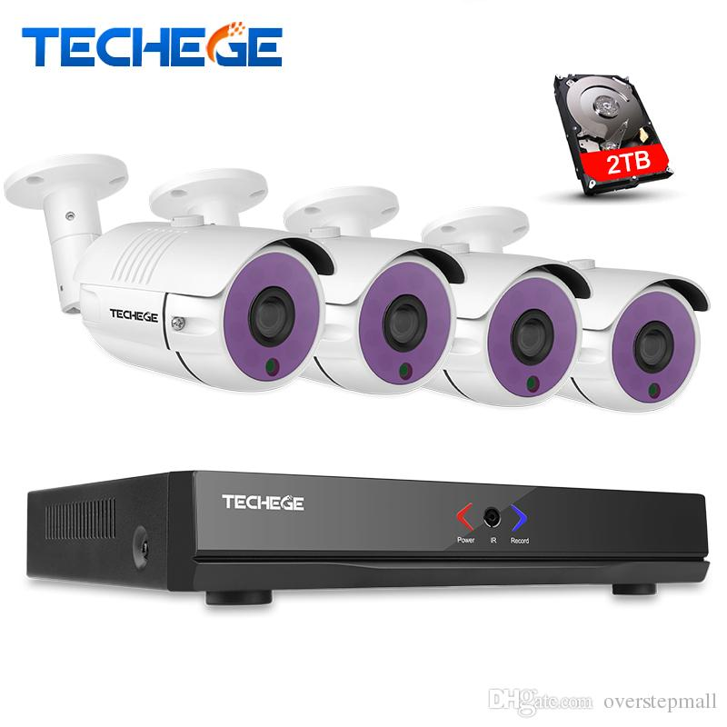 4CH 1080P HDMI P2P POE NVR Surveillance System Video Output 1 3MP IP Camera  960P HD XMeye Home Security CCTV Kits HDD Optional