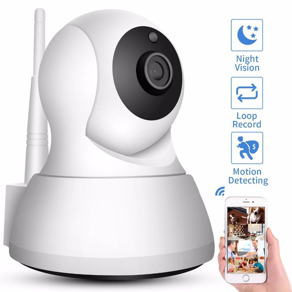 Home Security Wireless Mini IP Camera Surveillance Camera Wifi 720P Night  Vision CCTV Camera Baby Monitor