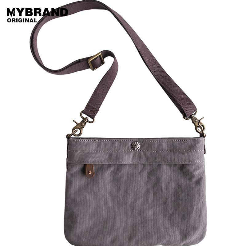 a84dc8f7e3b9 MYBRANDORIGINAL small crossbody bags for man canvas men messenger bag  single shoulder bags fashion men 10.5 ipad bag B157