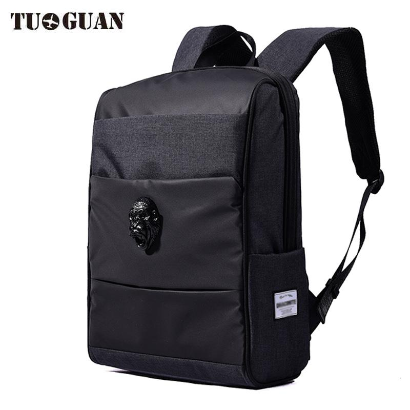 9e271534669e China Famous Brand Vintage Men Waterproof Backpack Laptop Computer Bags  Casual Travel Bagpack School Back Pack For Male Boys Mens Backpacks Swiss  Army ...